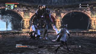 getlinkyoutube.com-bloodborne 死体の巨人 vs仕込み杖