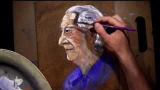 getlinkyoutube.com-Profile Impression - Oil Painting Lesson