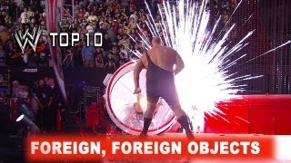 WWE Top 10: Objetos extra&ntilde;os