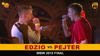 getlinkyoutube.com-bitwa EDZIO vs PEJTER # WBW 2015 Finał # freestyle battle [finał]
