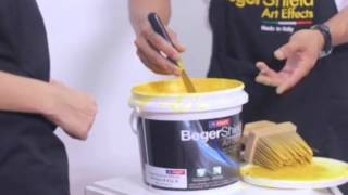getlinkyoutube.com-วิธีการทาสีสร้างลาย BegerShield Art Effects:รุ่น Artistic (คล้ายปูนเปลือย)