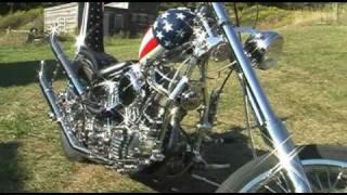 getlinkyoutube.com-Captain America and Billy Bike choppers