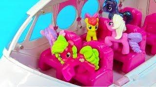 getlinkyoutube.com-MLP Airport Missed Flight My Little Pony Travel Part 4 Rarity Pinkie Pie Apple Bloom