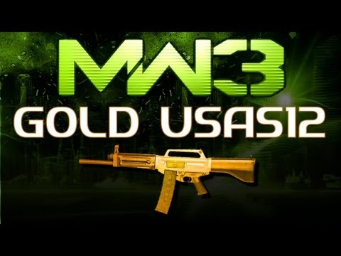 MW3 Online - GOLD USAS 12 - This Gun is a BEAST!!