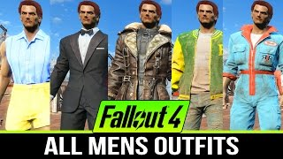 getlinkyoutube.com-FALLOUT 4 ALL CLOTHING OUTFITS & APPAREL (Men Outfits Only)