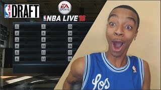 getlinkyoutube.com-GREATEST NBA Live 16 Rising Star Draft Day Reaction! - Is This The Right Fit Tho?