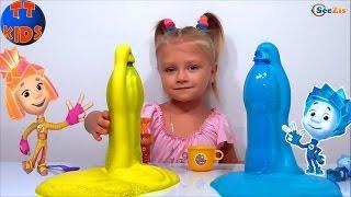 getlinkyoutube.com-✔ Фиксики и девочка Ярослава создают вулканы в ФиксиЛаборатории. Новые Опыты / Видео для детей ✔