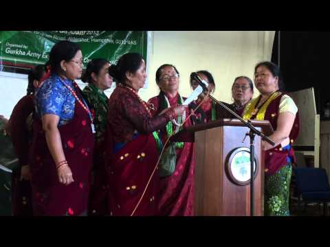 Gurkha Women Singing