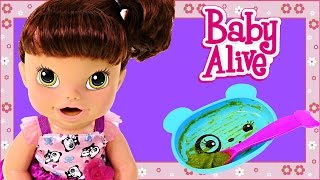getlinkyoutube.com-Baby Alive My Baby All Gone Speaks Spanish & English! Eating Drinking Potty Time Baby Doll