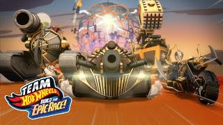 getlinkyoutube.com-Team Hot Wheels: Build the Epic Race! Trailer #1 | Hot Wheels