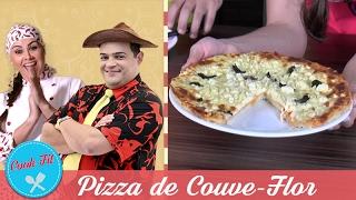 PIZZA DE COUVE-FLOR | Cook Fit | Matheus Ceará e Dani Iafelix
