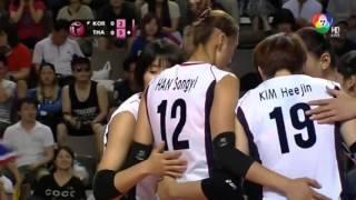 getlinkyoutube.com-volleyball wgp 2014 THAI VS KOREA