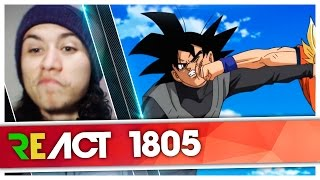 React 1805 Rap do Goku Black (Dragon Ball Super) | Tauz RapTributo 71