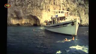 Capri anni 80, video amatoriale del giro dell'isola