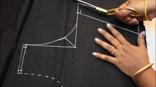 Blouse Cutting & Stitching In Tamil (DIY) width=