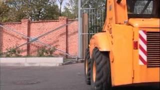 Видео - Погрузчик с бортовым поворотом Амкодор 211