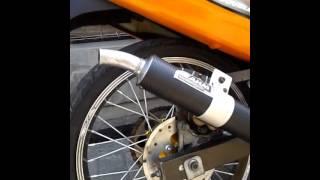 getlinkyoutube.com-Satria 2 stroke AHM exhaust