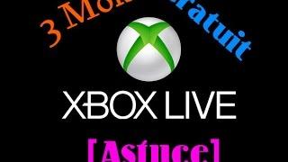 getlinkyoutube.com-Avoir 3 mois Xbox Live  gratuit