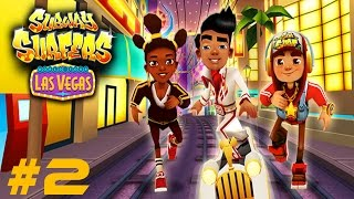 getlinkyoutube.com-Subway Surfers: Las Vegas - Sony Xperia Z2 Gameplay #2