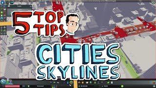 getlinkyoutube.com-How to design your new town - 5 Top Tips for Cities Skylines
