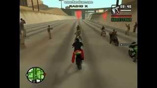 getlinkyoutube.com-Gta San Andreas | Carreras de Motos | Las Mejores Carreras de Motos |