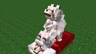 getlinkyoutube.com-Minecraft WTF Animations | EP1 | How Wolfs Make Babies