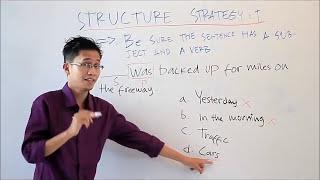Strategi Cara Menjawab Soal Structure Tes TOEFL dengan Benar dan Cepat - Tips Tes TOEFL Online #1