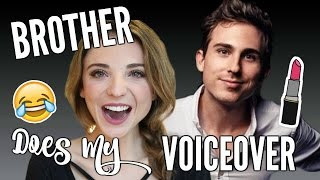 getlinkyoutube.com-BROTHER DOES MY VOICEOVER | You NEED to Watch!!! | DANI AUSTIN