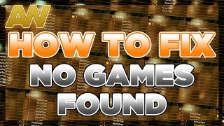 "getlinkyoutube.com-How To Fix ""NO GAMES FOUND"" on Advanced Warfare [COD AW NO GAMES FOUND FIXED]"