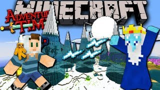 getlinkyoutube.com-Minecraft: Adventure Time! Map Quest with Jake in Ooo - Ep.3 - Ice King's Pad
