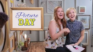 getlinkyoutube.com-Hannah Hart's Sexy Bieber Re-Do | Picture Day with Mamrie Hart! // I love makeup.