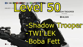 getlinkyoutube.com-Level 50 Unlocks! - Starwars Battlefront