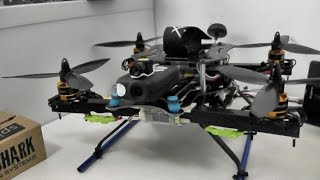 getlinkyoutube.com-Home built Quadcopter flight testing with MultiWii 2.5 SE