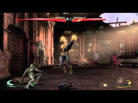 Injustice - JoNoGuNN (Green Arrow) Vs CRAZYKILL v2 (Flash, Green Lantern, Black Adam)