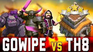 getlinkyoutube.com-CLASH OF CLANS ITA TUTORIAL | STRATEGIA GOWIPE TH8