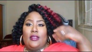 "Jamaican bounce Hair ""crochet tutorial/review"""