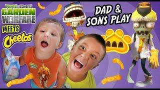 getlinkyoutube.com-Dad & Sons Play PVZ Garden Warfare: CHEETOS! Chester Chomper & Dr. Chester Face Cam Gameplay