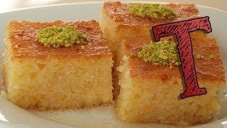 getlinkyoutube.com-Basbousa Recipe | How to Make Revani