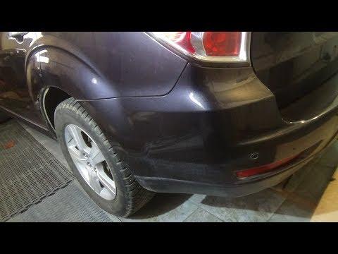 Как снять- установить задний бампер. Subaru Forester III.