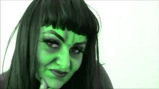 "getlinkyoutube.com-"" Green Witch Project"" Make up Tutorial on RuZaa TV"
