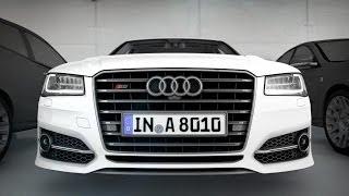 getlinkyoutube.com-2015 Audi S8 ► Active Safety demo [CES 2014]
