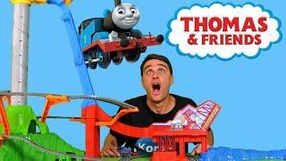 getlinkyoutube.com-Thomas & Friends Sky High Bridge Jump !  || Toy Review || Konas2002