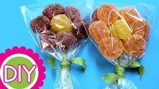 getlinkyoutube.com-Flores de gominolas o gomitas. Sweet flowers