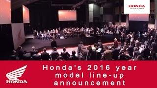 getlinkyoutube.com-Honda's 2016 year model line-up announcement