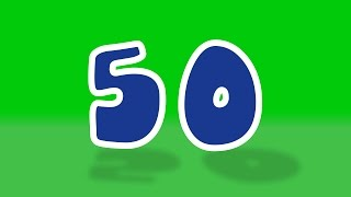 getlinkyoutube.com-Numbers song | 1 to 50 numbers song