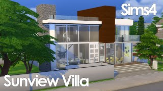 getlinkyoutube.com-Sunview Villa (Modern)  - The Sims 4 Speed Build