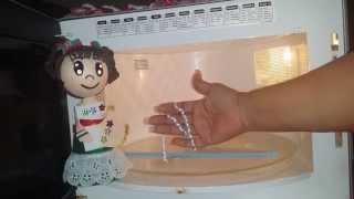 getlinkyoutube.com-DIY Como Ondular liston en   microondas para moños