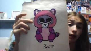 getlinkyoutube.com-Beanie boo drawing contest (OPEN) and an entry for expert wacky gem AJ