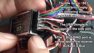 getlinkyoutube.com-3GX Version 3 - Connecting a Standard Receiver. Binding and Testing Fail Safe