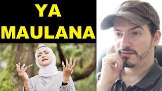 YA MAULANA - Sabyan Song-Video REACTION + REVIEW